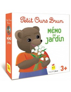 Mémo du jardin Petit Ours Brun