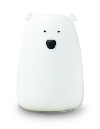 Veilleuse Big ours blanc