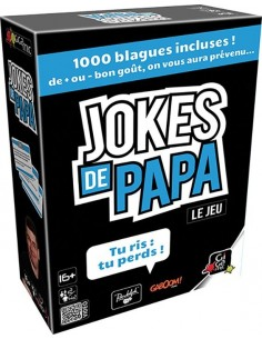 Jeu jokes de papa - Gigamic