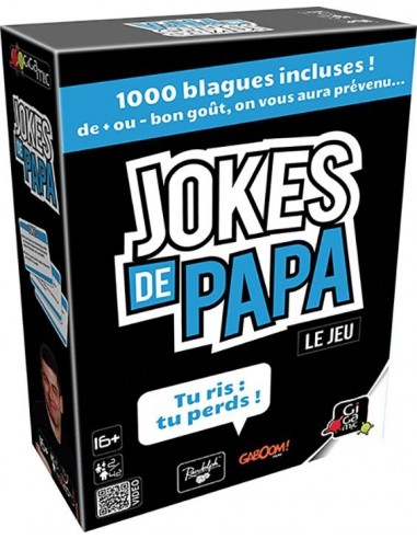 Jeu jokes de papa - Gigamic