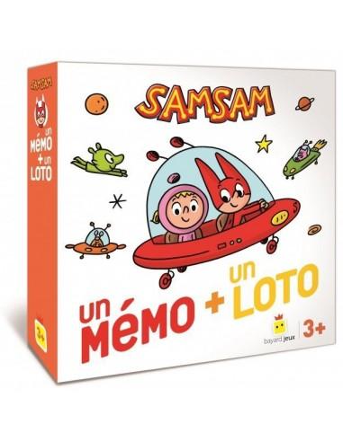 Mémo et loto SamSam