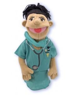 Marionnette de docteur -...