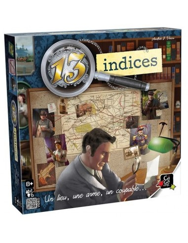 13 indices - jeu Gigamic