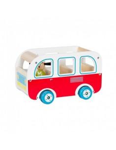 Bus en bois La Grande...