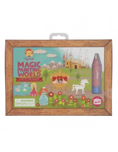 Coloriage magique une journée au palais