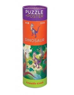 Puzzle et poster Dinosaure...
