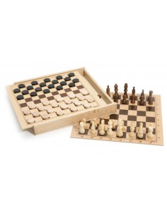 Coffret d'échecs et de...