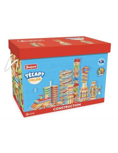 500 planchettes Tecap color - Jeujura