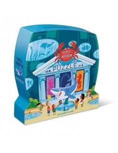 Puzzle visite de l'aquarium...