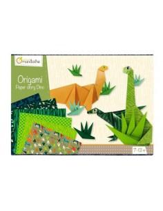Boite créative origami dinosaure