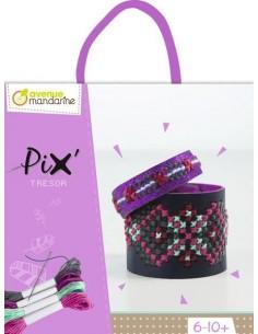 Pix bracelet violet -...