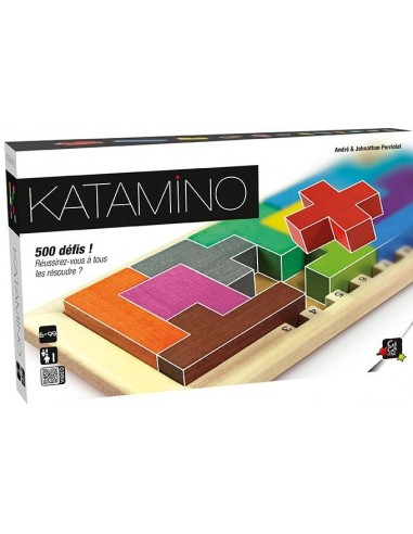 Katamino classic en bois - jeu Gigamic