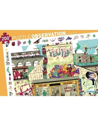 Puzzle d'observation streetart 200...