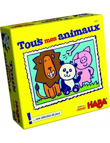 Tous mes animaux - Mini jeu Haba