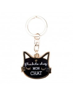 Porte clés mon chat - Créa...
