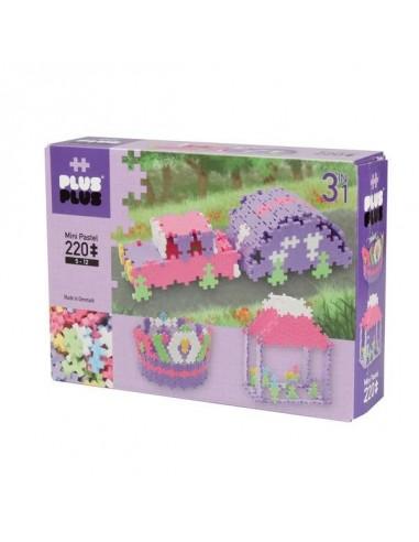 Plus Plus Box 3 en 1 Mini-Pastel  220...