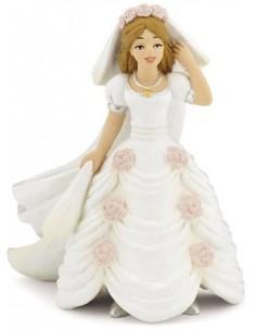 Figurine mariée fleurie - Papo