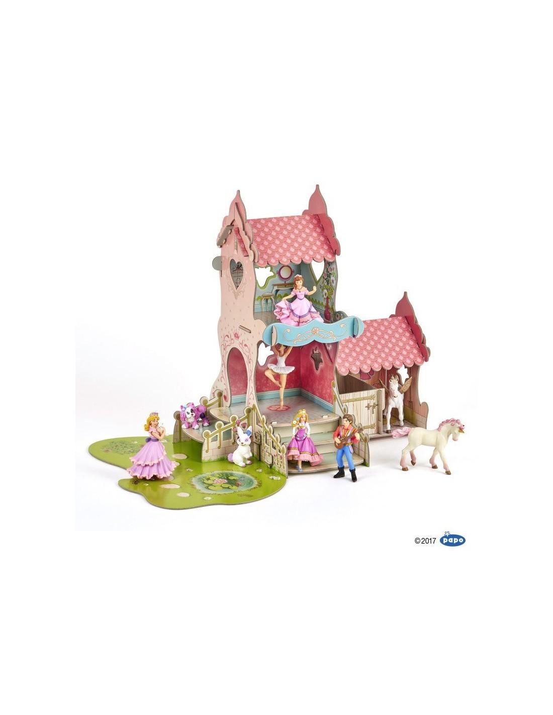 Le château de princesse décor Papo