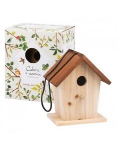 Cabane à oiseaux le jardin...