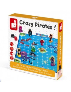 Crazy pirates - jeu Janod