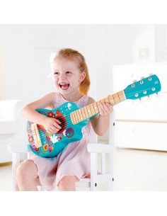 Guitare flower power - Hape