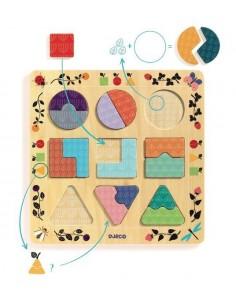 Puzzle ludigraphic - Djeco