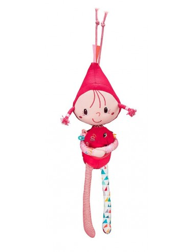 Peluche musicale chaperon rouge -...