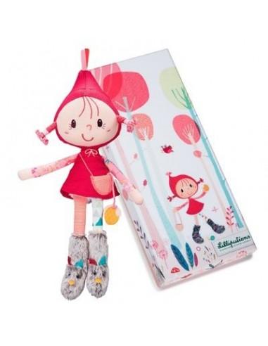Mini poupée Chaperon rouge -...