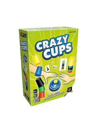 Jeu Crazy cups - Gigamic