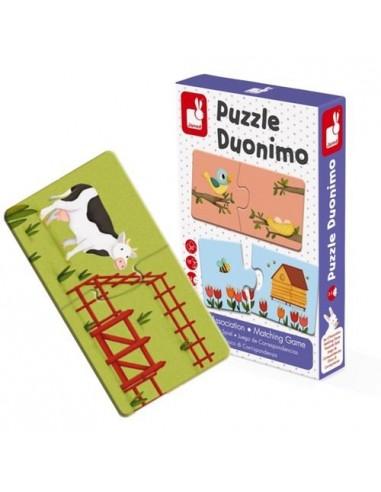 Puzzle duonimo 20 pièces - Janod