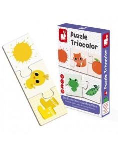 Puzzle triocolor 30 pièces...