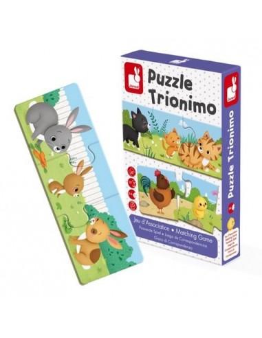 Puzzle trionimo 30 pièces - Janod