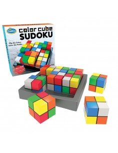Color cubes sudoku
