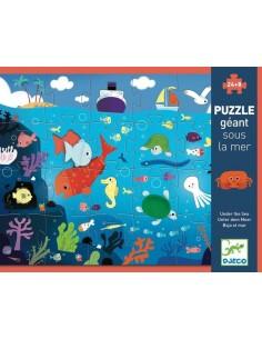 Puzzle géant sous la mer -...