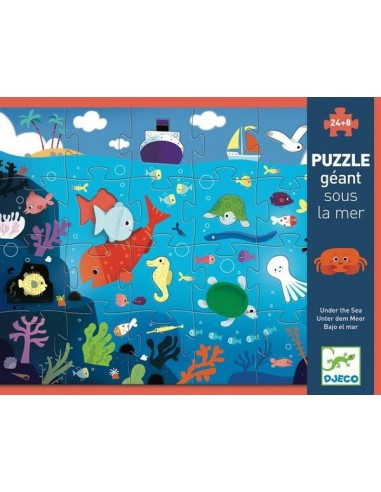 Puzzle géant sous la mer - Djeco