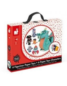 Figurines paper toys garçon...