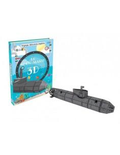 Maquette sous marin 3D - Sassi