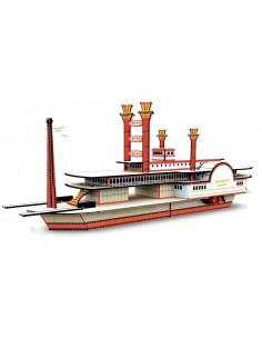 Maquette bateau à vapeur 3D...