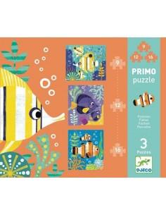 Primo puzzle poissons - Djeco