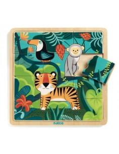 Puzzlo Jungle - Djeco