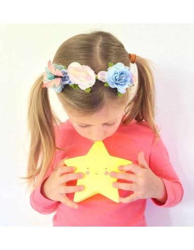 Veilleuse étoile jaune - A Little...
