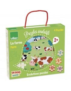 4 puzzles évolutifs la...