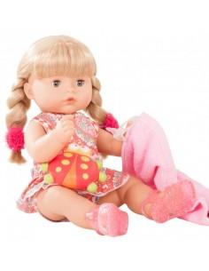 Poupée baigneur Maxi aquini blonde avec accessoires 42 cm
