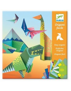 Origami facile dinosaures