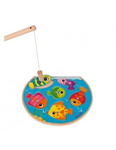 Puzzle Speedy Fish - pêche magnétique...
