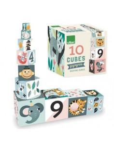 Cubes gigognes les animaux...