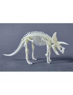 Tricératops phosphorescent...