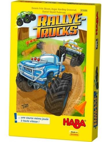 Rallye trucks - jeu Haba