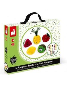 Pompons fruits - Janod