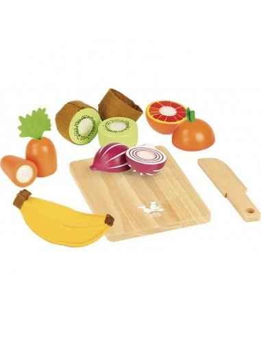 Fruits et légumes à découper - Vilac